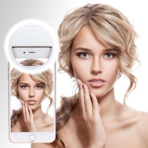Hordozható LED Selfie fény