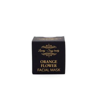 Orange flower mask (Narancsvirág arcmaszk)
