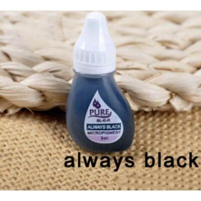 PURE Always black pigment