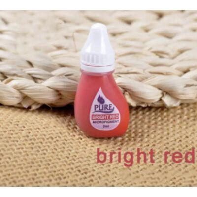 PURE Bright red pigment