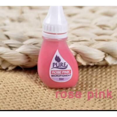 PURE Rose pink pigment