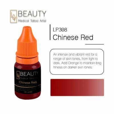 Chinese Red - organikus pigment gépi technikához