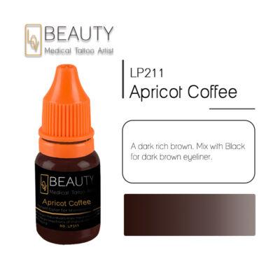 Apricot Coffee - organikus pigment gépi technikához