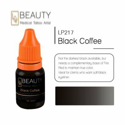 Black Coffee - organikus pigment gépi technikához