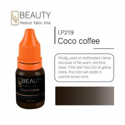 Coco Coffee - organikus pigment gépi technikához