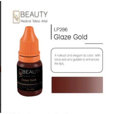 Glaze Gold- organikus pigment gépi technikához