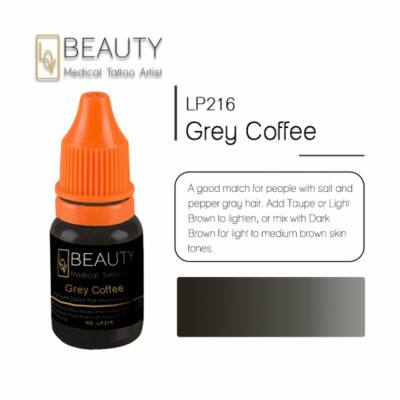 Grey Coffee - organikus pigment gépi technikához