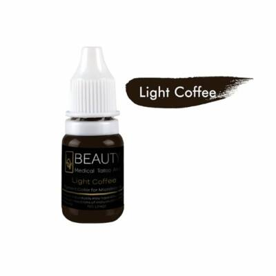 Light Coffee - organikus pigment gépi technikához
