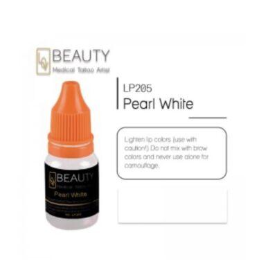 Pearly White - organikus pigment gépi technikához