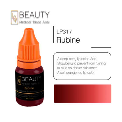 Rubine - organikus pigment gépi technikához
