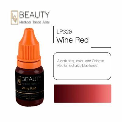 Wine Red - organikus pigment gépi technikához