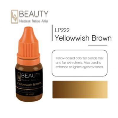 Yellowish Brown - organikus pigment gépi technikához